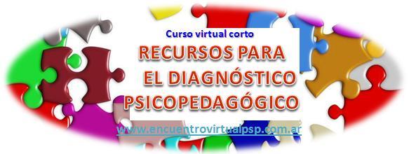 curso virtual corto Recursos Diagnóstico PSP