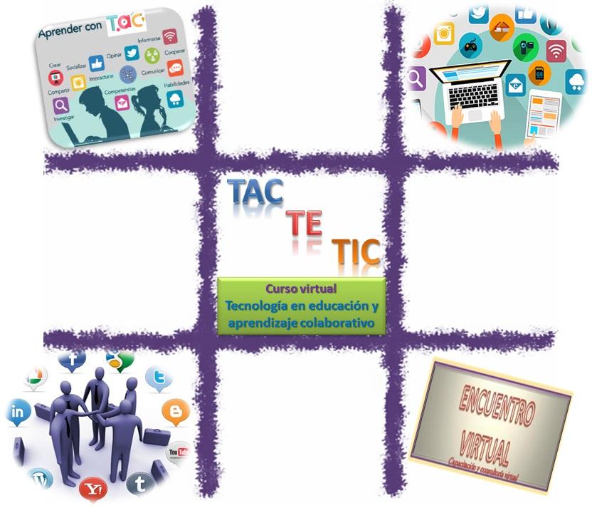 TAC TE TIC tecnologia en educación y aprendizaje colaborativo